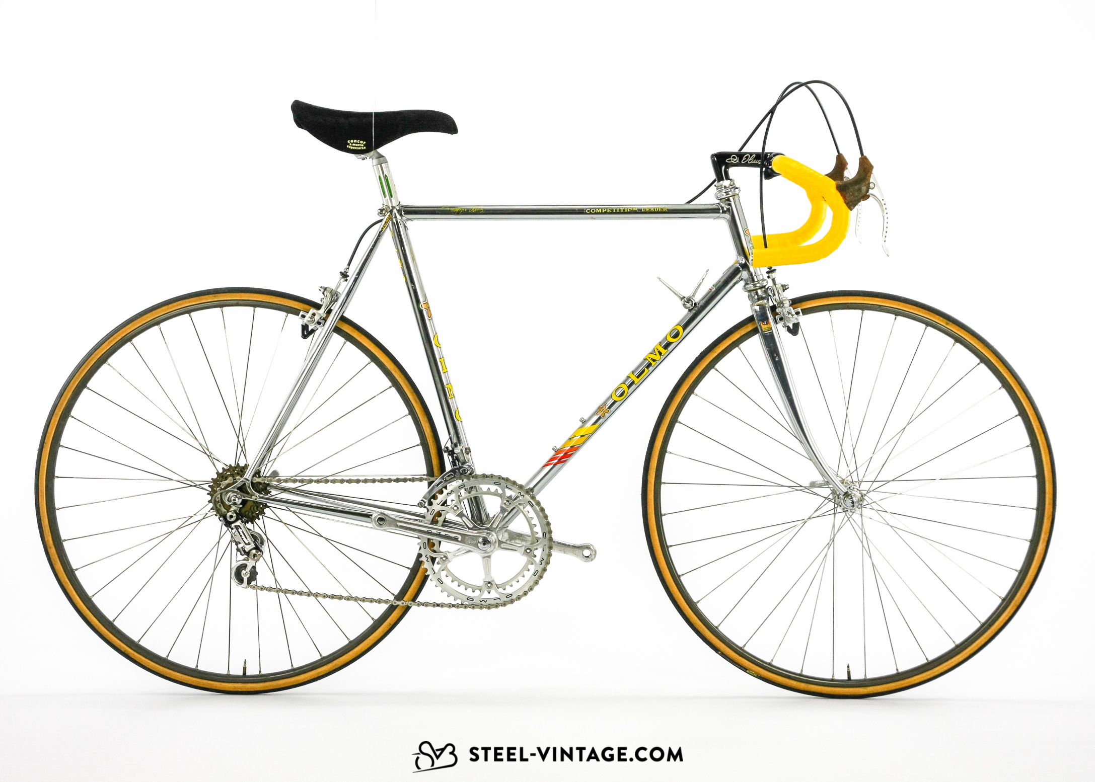 Olmo Competition Leader Road Bicycle 1980s
