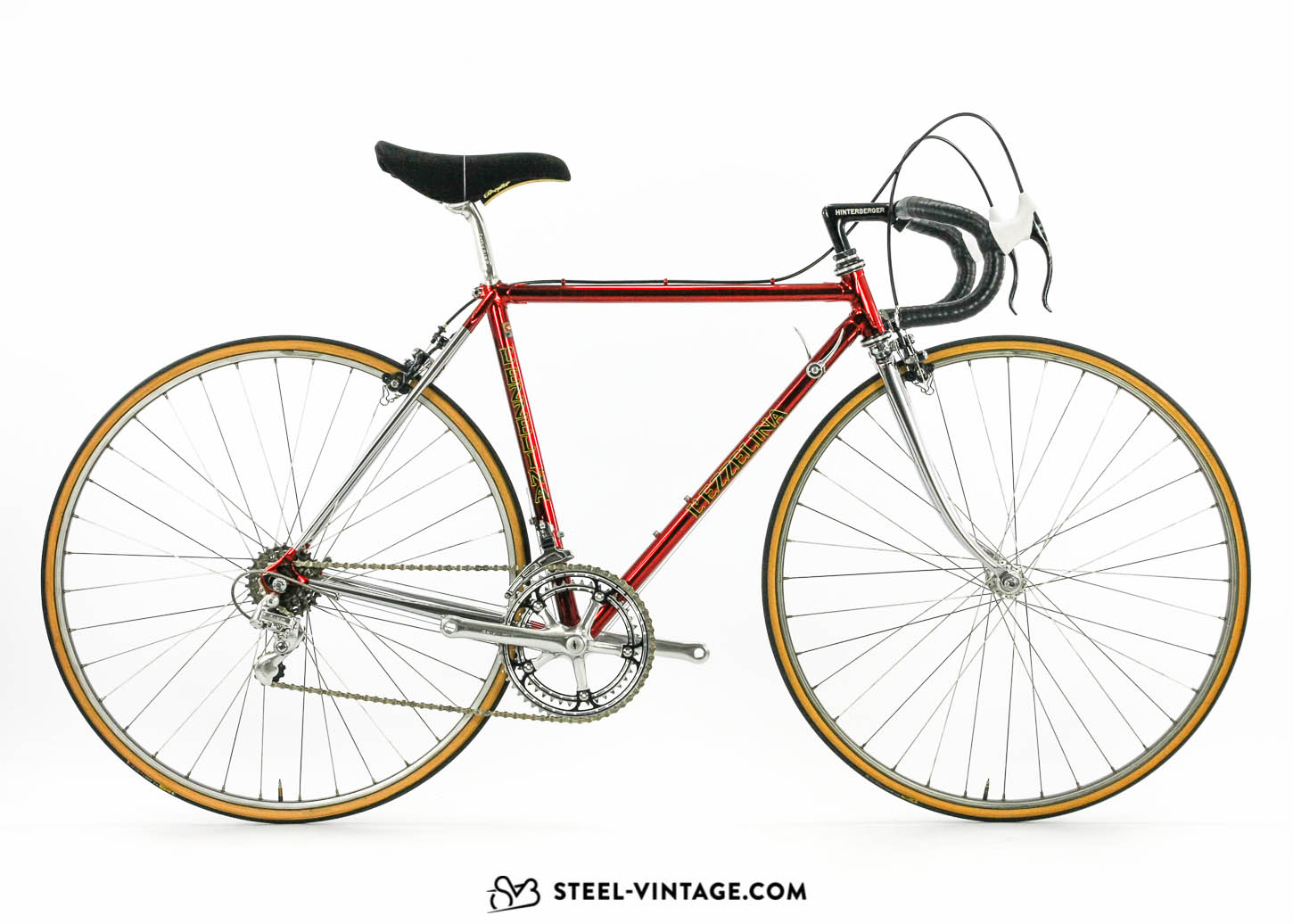 L'Ezzelina Cromovelato Eroica Road Bicycle 1980s