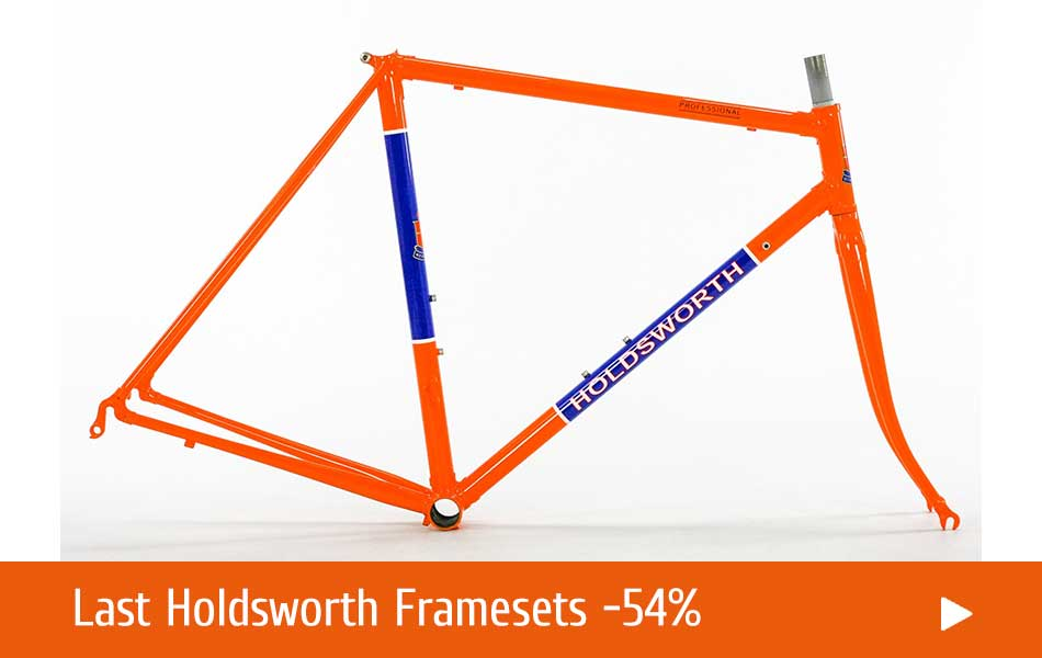 Official Holdsworth Heritage Online Shop - Steel Vintage Bikes
