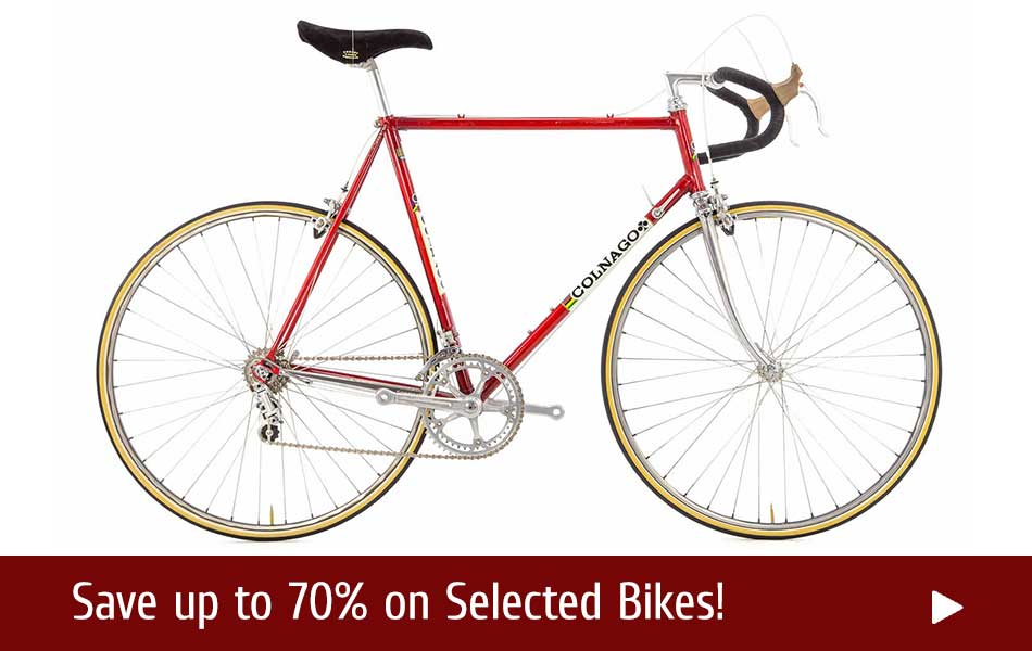 Winter Deals on Classic Bicycles