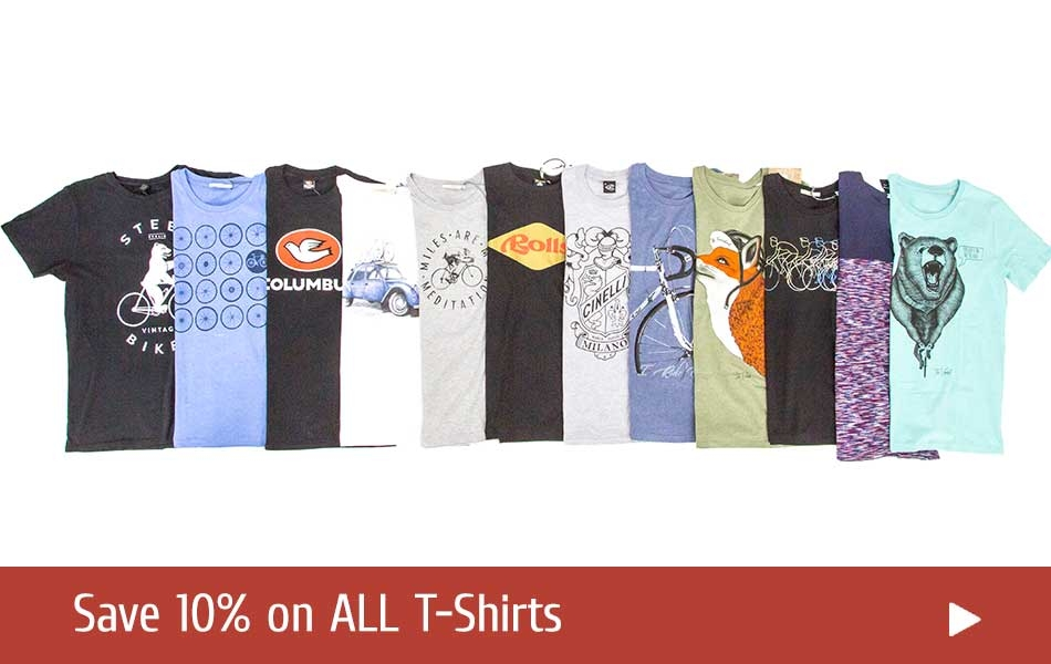 Sale on T-Shirts for Cyclists