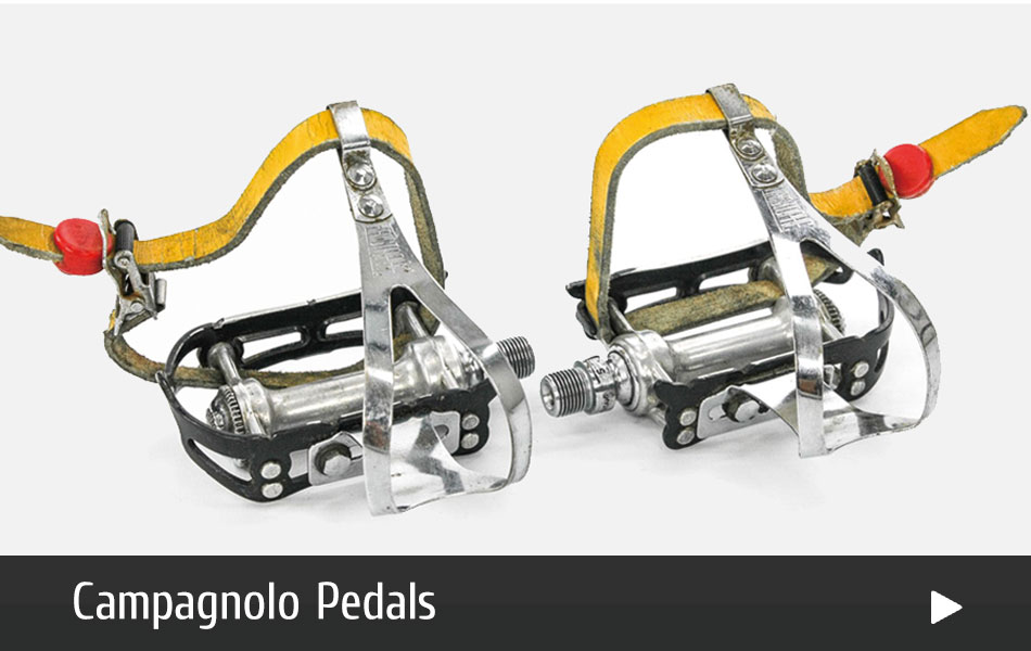 Campagnolo Pedals for Vintage Bikes