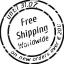 Free shipping on new orders over 200€ until 31 July 2015!