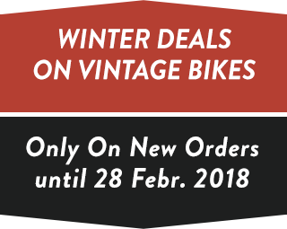 Winter Deals on Vintage Bikes