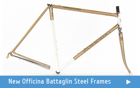 New Officina Battaglin Steel Frame Collection Available at Steel Vintage Bikes