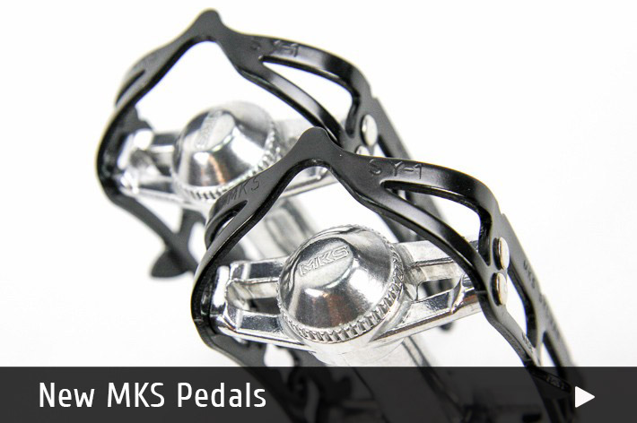 Buy New MKS Pedals for Vintage Bicycles Online
