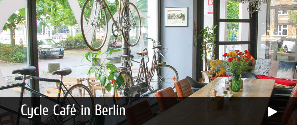 Cycle Café in Berlin at Steel Vintage Bikes
