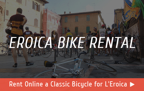 Rent a classic bicycle for L'Eroica!