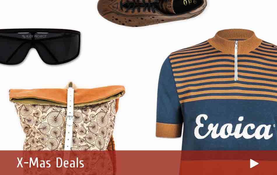 Winter Deals on Clothing and Apparel for Vintage Bicycles