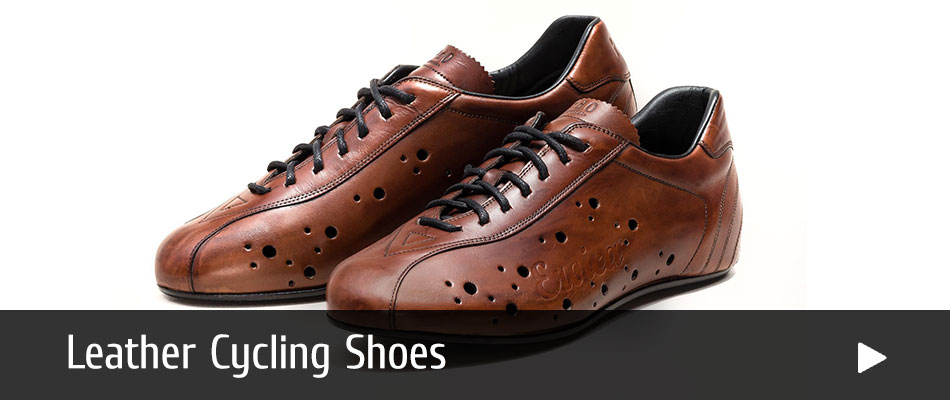 Eroica Leather Cycling Shoes