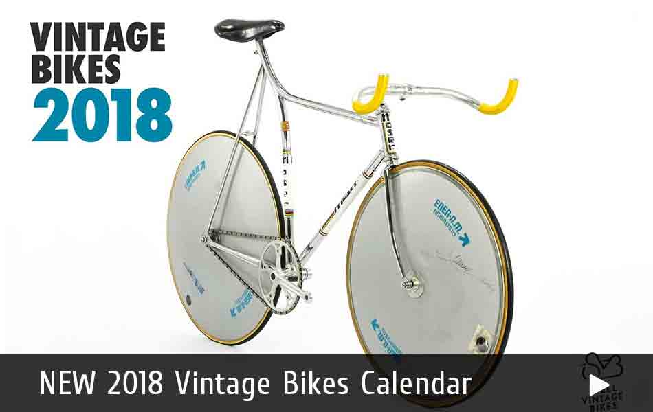 The New 2018 Vintage Bikes Calendar is available