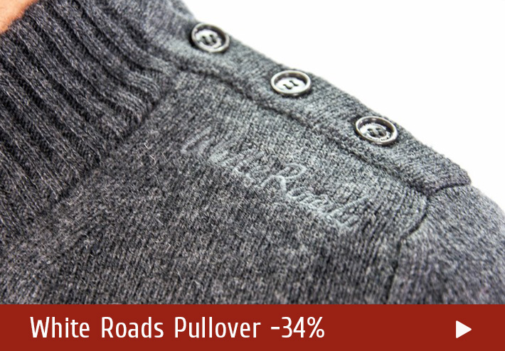 Winter Deals on White Roads Pullover