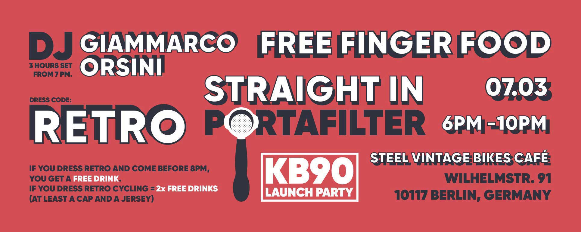 La Marcozzo KB90 Launch Party on 7th March 2019