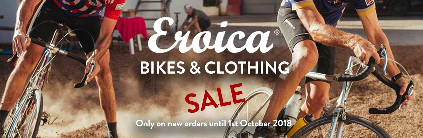 Eroica Sale at Steel Vintage Bikes